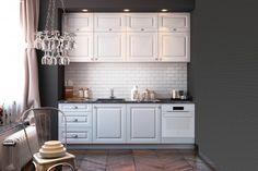 8 ideas to light up your kitchen Pastel Kitchen, Little Kitchen, Modern Kitchen Design, Light Up, Home Kitchens, Kitchen Cabinets, Relax, House Design, Interior