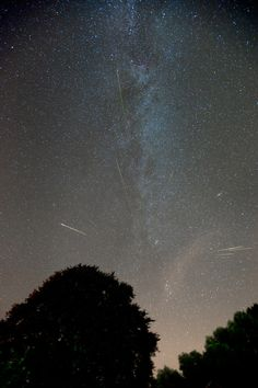 Marco Verstraaten's Long Exposure of Perseid MeteorsCredit: Marco VerstraatenOn the night of August 12, 2010, astronomer Marco Verstraaten recorded a series of exposures capturing meteors in the Perseid Meteor Shower over a period of 6 hours using a wide angle lens from a not-so-dark site in the Netherlands.