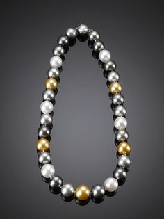 Multi-Color (aka goes with everything!) South Sea Pearl Necklace