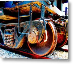 Foundation 1 Metal Print By Wendy J St Christopher- LOBBY