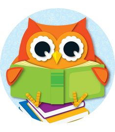 The fun and colorful character, Reading Owl, will enhance any classroom theme or reading corner! The two-sided decorations are perfect for hanging or window display. Owl Classroom Decor, Classroom Labels, Classroom Themes, Classroom Websites, Owl Activities, Cubby Tags, Teacher Supplies, Beginning Of School, Bird Pictures