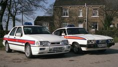 The last Ford Capri to see service with Greater Manchester Police stands… Classic Cars British, Ford Classic Cars, British Police Cars, Manchester Police, Ford Police, Emergency Vehicles, Police Vehicles, Ford Sierra, Cars Uk