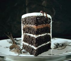 This Black Velvet Cake is a dream! Rich and creamy and decadent... a must try!
