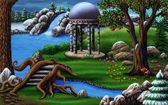 Screenshot of Heroine's Quest: The Herald of Ragnarok
