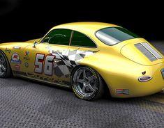 Porsche 356 Outlaw, Volvo Amazon, Bike Design, Automotive Design, Hot Wheels, Hot Rods, Race Cars, Mustang, Decal