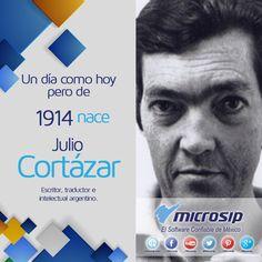 Un día como hoy 26 de agosto pero de 1914 nace Julio Cortázar, escritor, traductor e intelectual argentino.