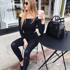 Weekend ready in the perfect black motos #idlehourboutique #dtfw #lookswelove #happyweekend