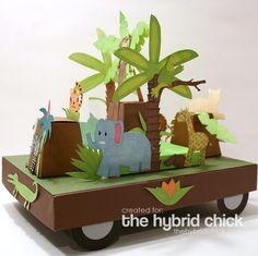 Junglemania Parade Float! | The Hybrid Chick