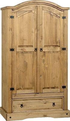 CORONA MEXICAN PINE WARDROBE, 4 DOORS, 3 DOORS, 2 DOORS. FREE NEXT DAY DELIVERY