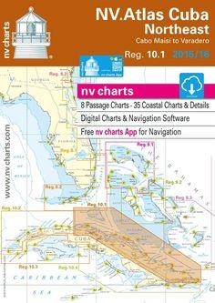 NV-Charts Reg. 10.1: Cuba Northeast, Cabo Maisi to Varadero, 2015/16 Ed.