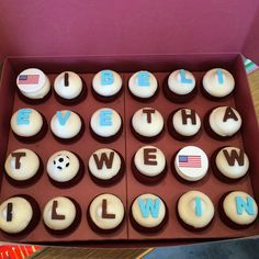 Whether your team wins or loses, at least there will be cupcakes!