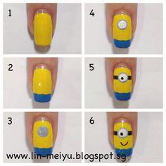 minion nails easy - Google zoeken