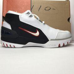 f8ef5f37fe01 DS Nike Air Zoom Generation Lebron 1 2003 OG Size 8.5
