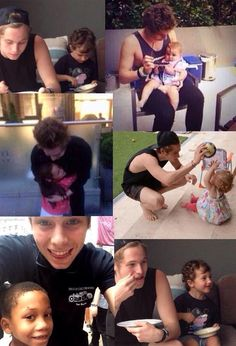 WHAT THE HELL? LUKE IS SO GOOD WITH KIDS!!