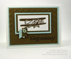 Sky is the Limit Sale-a-Bration card swap shared by Dawn Olchefske #dostamping #stampinup (Shari Caspers)