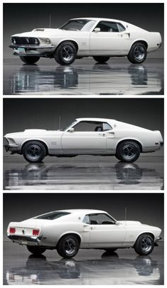 """The MUSCLE"" Check out this1969 Ford Mustang Boss 429 #ThrowbackThursday"