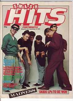 SMASH HITS Magazine - December 1979 - MADNESS cover