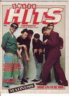 SMASH HITS Magazine - December 1979 - MADNESS cover