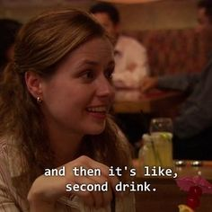 """And she revealed this universal truth:   17 Times Pam From """"The Office"""" Gave You Life Goals"""