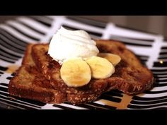 How to Make Banana French Toast || KIN EATS