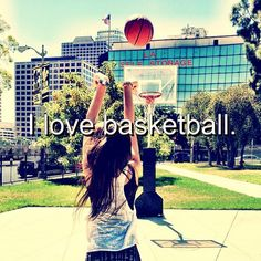 and that's who I am... I really do! #1sportinamerica  I just love the game, I belong on the court!