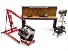 scale models  | acessórios diorama oficina mecânica gmp avise me quando disponível ...