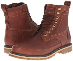 Timberland, Men, 6in mixed media wp boots brown