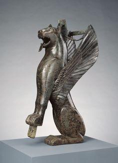 Winged Feline. Unknown, Tartessian, Spain, 700 - 575 B.C. | ©J. Paul Getty Trust