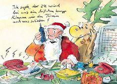 Peter Gaymann Postkarte Termin was schieben