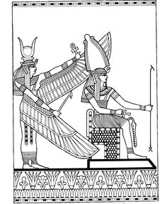 Decoration From Ramseys Tomb Egypt
