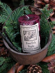 Twelfth Night Medieval Tradition Holiday, Winter Solstice, Yule, 12 Days of Christmas English Christmas, Old World Christmas, Primitive Christmas, Christmas Time, Primitive Decor, Merry Christmas, Winter Festival, Twelve Days Of Christmas, Twelfth Night