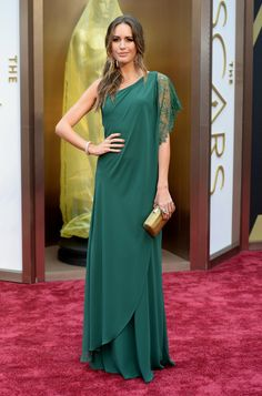 Louise Roe | Fashion On The 2014 Academy Awards Red Carpet
