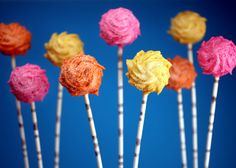 @Luba Reese -- Bakerella has a post about making Lorax cake pops. I don't have the patience to make the Lorax ones, but these are great & would be perfect to serve while reading the book to your class.