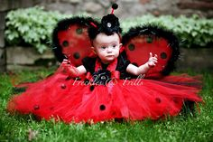 too cute for words! #Ladybug #Tutu #Tulle