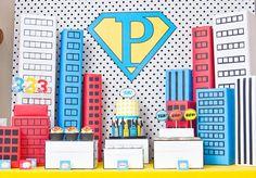 Un fête de super héro