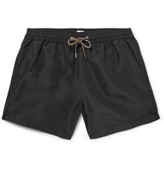 PAUL SMITH Slim-Fit Mid-Length Swim Shorts. #paulsmith #cloth #swimwear
