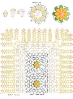 s media cache originals 10 85 Crochet Symbols, Crochet Doily Patterns, Crochet Diagram, Crochet Doilies, Crochet Stitches, Crochet Mat, Crochet Potholders, Crochet Home, Crochet Granny