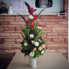 Cone Flower Arrangement | My Favourite Kind of Sunday's Activities
