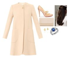 """""""Attending Easter Sunday Mass"""" by fashion-royalty ❤ liked on Polyvore featuring Tiffany & Co., Goat, Christian Louboutin, Paloma Picasso and Blue Nile"""