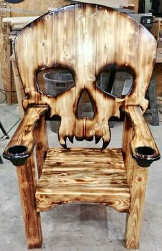 Wooden Pallet Furniture New Wooden Pallet Chair Furniture Ideas Woodworking Plans, Woodworking Projects, Diy Projects, Cool Wood Projects, Woodworking Skills, Pallet Projects, Deco Originale, Into The Woods, Diy Holz