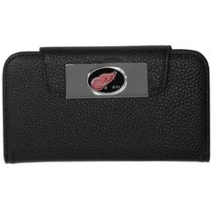 """Checkout our #LicensedGear products FREE SHIPPING + 10% OFF Coupon Code """"Official"""" Detroit Red Wings iPhone 5/5S Wallet Case - Officially licensed NHL product Fits iPhone 5/5S phones Black case with magnetic closure, will not damage cards or phone Perfect simple way to combine your phone and wallet Detroit Red Wings metal logo - Price: $16.00. Buy now at https://officiallylicensedgear.com/detroit-red-wings-iphone-5-5s-wallet-case-hwci110"""
