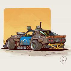Brawler by Fernando Correa Arte 8 Bits, Character Art, Character Design, Cool Car Drawings, Street Racing Cars, Arte Cyberpunk, Car Illustration, Futuristic Cars, Car Sketch