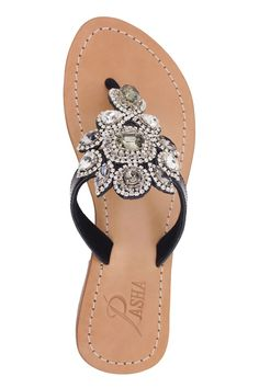 49bec3a4aacd Flat Sandals with upper   lower 100% leather soles