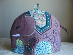 Applique Elephant Tea Cosy/Cozy Pattern | Craftsy