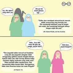@annisa_haq - Yang dimaksud orang bermuka dua adalah kaum munafik. Dia tidak memiliki pendirian dan keteguhan dalam imannya. Maka bila berkumpul dengan kaum Muslimin seolah-olah ia bagian dari mereka. Namun jika bersama-sama kaum kafir bisa jadi ia lebih dahsyat kekafirannya dibanding kaum kafir itu sendiri. Padahal Allah mengancam kaum munafik akan dimasukkan ke dasar neraka yang terdalam.. Ya Allah aku berlindung kepada-Mu dari teman dekat yang suka menipu matanya melihatku tetapi hatinya…