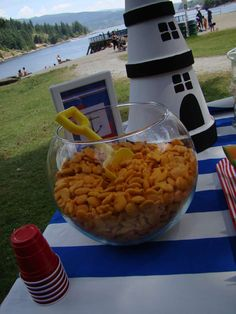 Nautical Birthday Party Ideas   Photo 6 of 29   Catch My Party