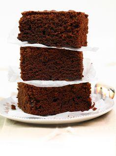 Brownie z masą makową #słodkości #smakołyk #deser #przepisy #energia #ciasto #brownie #kakao #czekolada #mak #POLOmarket