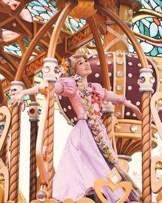 #ディズニーランド#東京ディズニーランド#ディズニー#ラプンツェル#ドリーミングアップ#ディズニー写真部… Disney Rapunzel, Tangled Rapunzel, Disney Princesses, Disney Parks, Walt Disney, Tangled Cosplay, Disney Face Characters, Cartoon Drawings, Sailor Moon