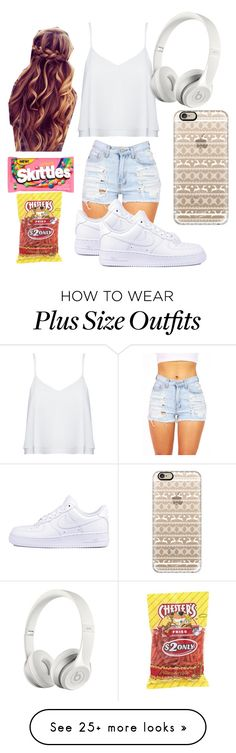 """""""Made By: Daniela """" by jasloves5sos on Polyvore featuring Alice + Olivia, NIKE, Beats by Dr. Dre and Casetify"""