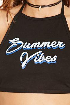 Crop Top « Summer Vibes »